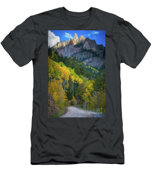 Road To Silver Mountain Men's T-Shirt (Athletic Fit)