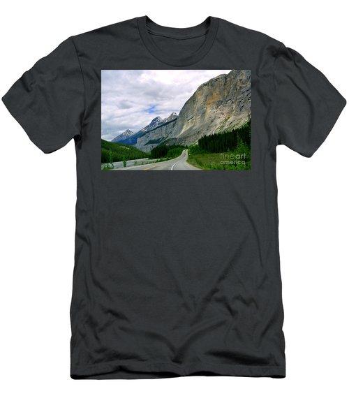 Road Trip  Men's T-Shirt (Slim Fit) by Elfriede Fulda