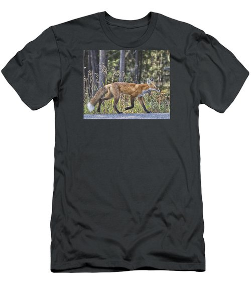 Road Weary Men's T-Shirt (Slim Fit) by Elizabeth Eldridge