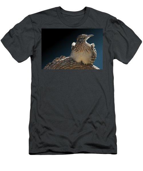 Roadrunner On A Log Men's T-Shirt (Athletic Fit)