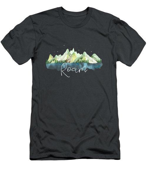 Roam Men's T-Shirt (Athletic Fit)