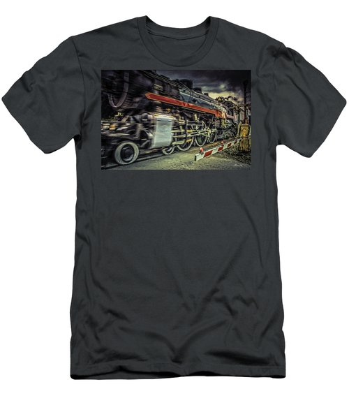 Roaring Past Men's T-Shirt (Athletic Fit)