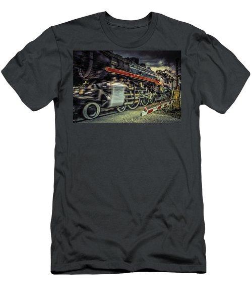 Roaring Past Men's T-Shirt (Athletic Fit)