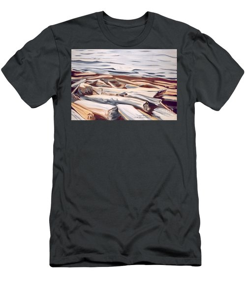 Roberts Creek, Sunshine Coast, B.c. Men's T-Shirt (Athletic Fit)