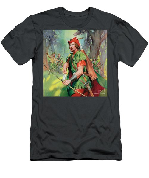 Robin Hood Men's T-Shirt (Athletic Fit)