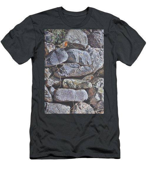 Robins Men's T-Shirt (Athletic Fit)