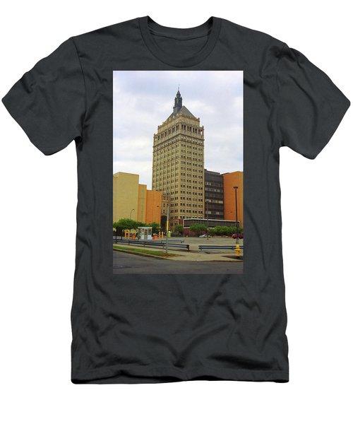 Rochester, Ny - Kodak Building 2005 Men's T-Shirt (Slim Fit) by Frank Romeo