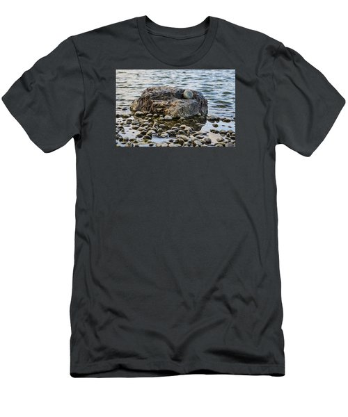 Men's T-Shirt (Slim Fit) featuring the photograph Rock And Roll by Deborah Smolinske