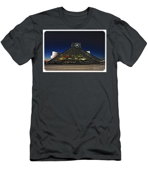 Rock And Roll Hall Of Fame - Cleveland Ohio - 5 Men's T-Shirt (Athletic Fit)