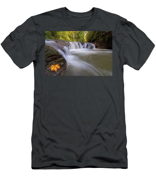 Rock Creek In Happy Valley Oregon Men's T-Shirt (Athletic Fit)