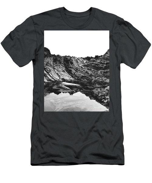 Rock - Detail Men's T-Shirt (Slim Fit) by Rebecca Harman
