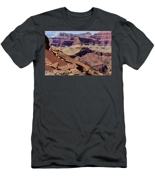 Rock Formations In The Grand Canyon Men's T-Shirt (Athletic Fit)