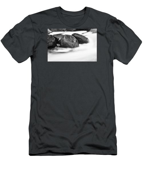 Men's T-Shirt (Slim Fit) featuring the photograph Rock Solid by Larry Ricker