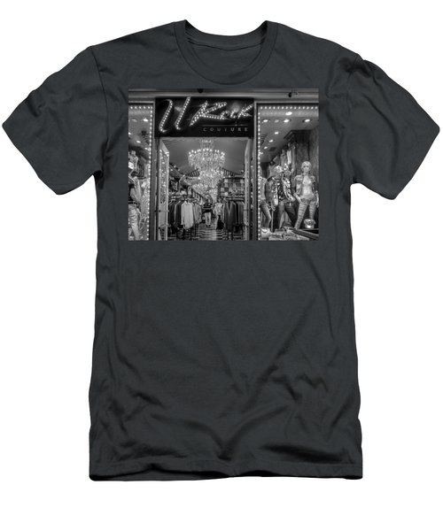 Men's T-Shirt (Athletic Fit) featuring the photograph Rockin' Couture by Melinda Ledsome