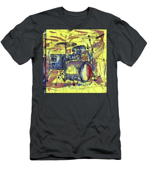 Rockin Drums Men's T-Shirt (Athletic Fit)