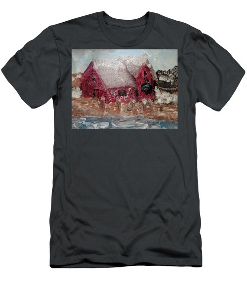 Rockport Christmas 1 Men's T-Shirt (Athletic Fit)