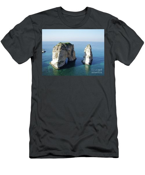 Rocks In Sea Men's T-Shirt (Athletic Fit)