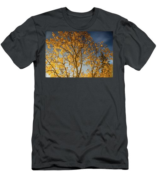 Rocky Mountain Fall Colors Men's T-Shirt (Athletic Fit)