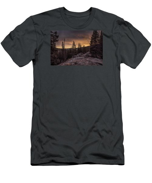 Rocky Mountain Skyfire Men's T-Shirt (Athletic Fit)