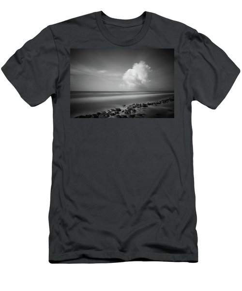 Rocky Shoreline Men's T-Shirt (Athletic Fit)