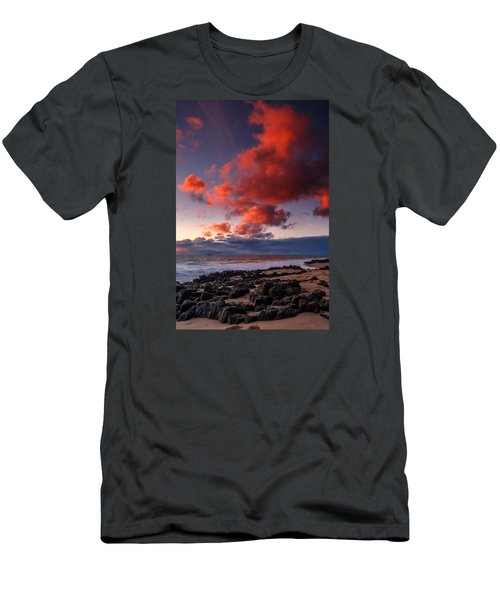 Rocky Sunset Men's T-Shirt (Athletic Fit)