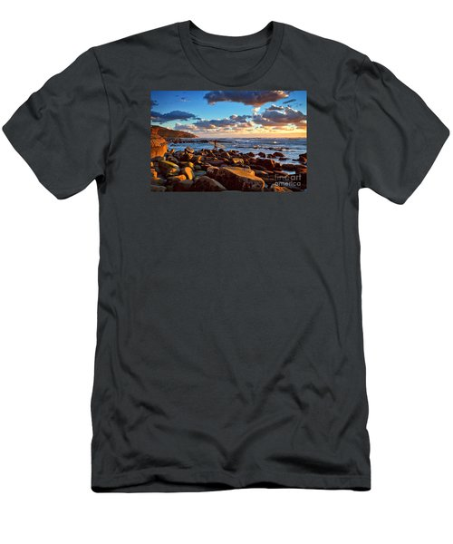Rocky Surf Conditions Men's T-Shirt (Athletic Fit)