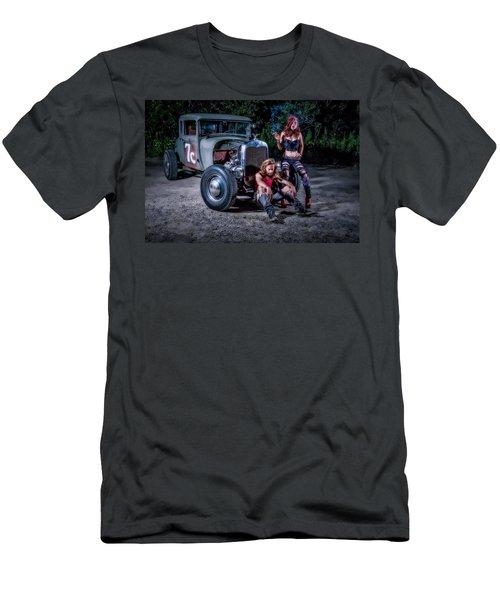 Rodders #2 Men's T-Shirt (Athletic Fit)