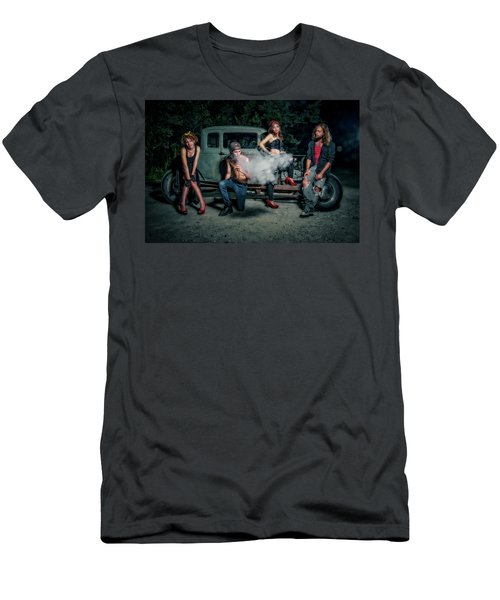 Rodders #3 Men's T-Shirt (Slim Fit) by Jerry Golab