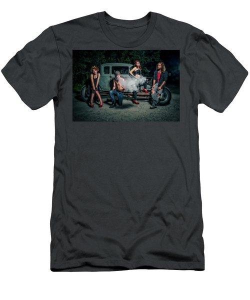 Rodders #3 Men's T-Shirt (Athletic Fit)