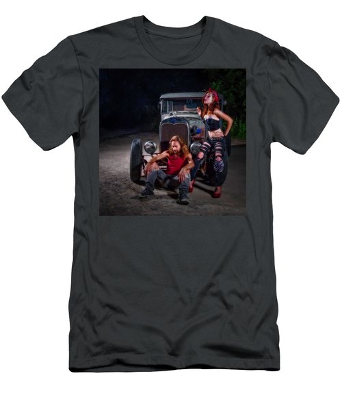 Rodders Men's T-Shirt (Slim Fit) by Jerry Golab