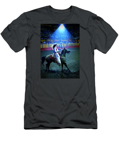 Rodeo Queen In The Spotlight Men's T-Shirt (Athletic Fit)
