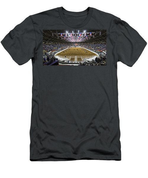 Rodeo Time In Texas Men's T-Shirt (Athletic Fit)