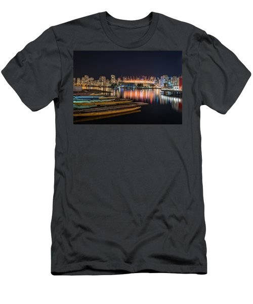 Rogers Arena Vancouver Men's T-Shirt (Slim Fit) by Sabine Edrissi