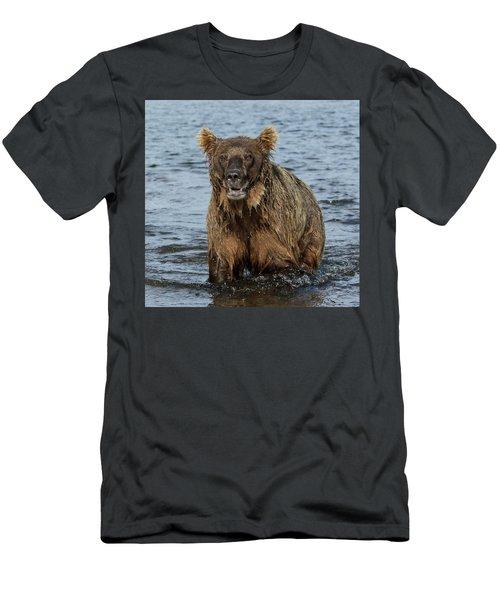 Rogue Bear  Men's T-Shirt (Athletic Fit)