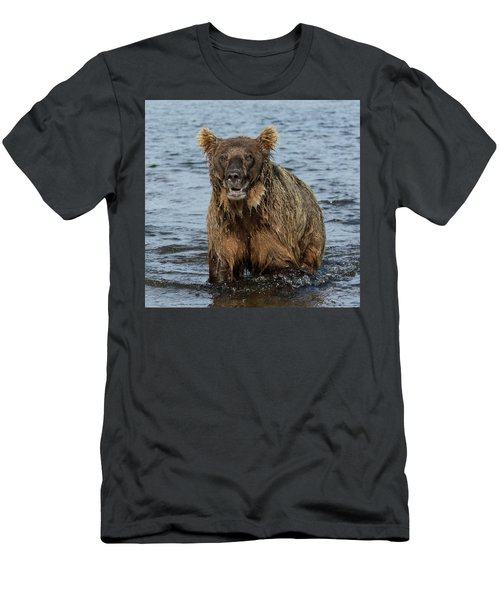Rogue Bear  Men's T-Shirt (Athletic Fit)