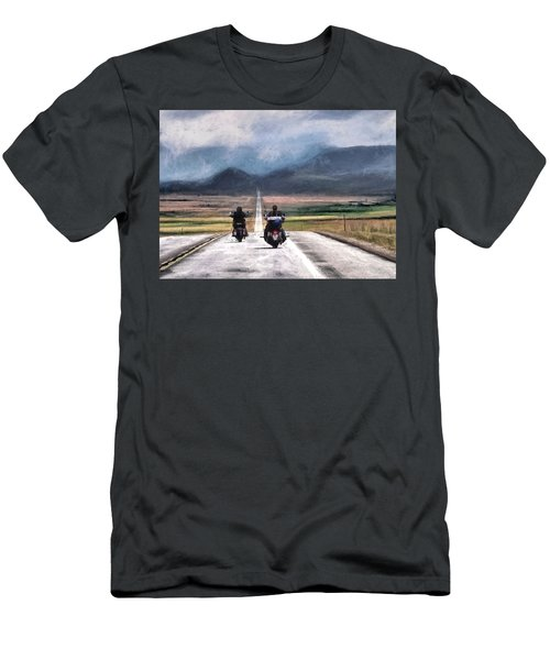 Roll Me Away Men's T-Shirt (Athletic Fit)