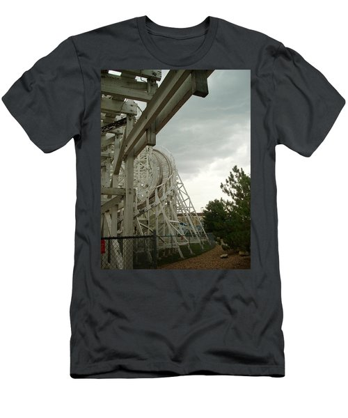 Roller Coaster 5 Men's T-Shirt (Athletic Fit)
