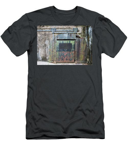 Rolling Door To The Bunker Men's T-Shirt (Athletic Fit)