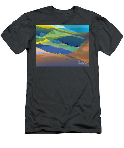 Rolling Hills Landscape Men's T-Shirt (Athletic Fit)