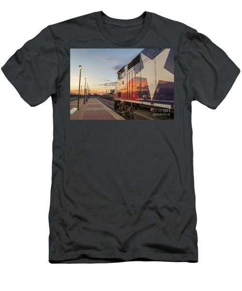 Rolling Into The Sunset Men's T-Shirt (Athletic Fit)
