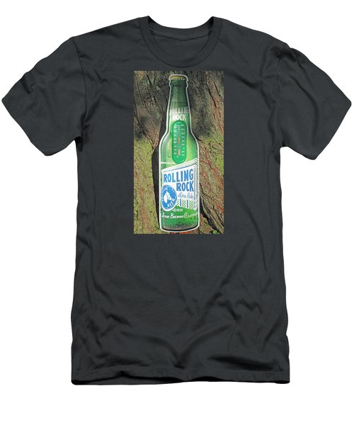 Rolling Rock Beer Men's T-Shirt (Athletic Fit)