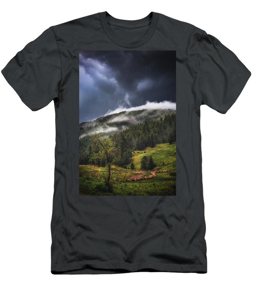 Rolling Through The Trees Men's T-Shirt (Athletic Fit)