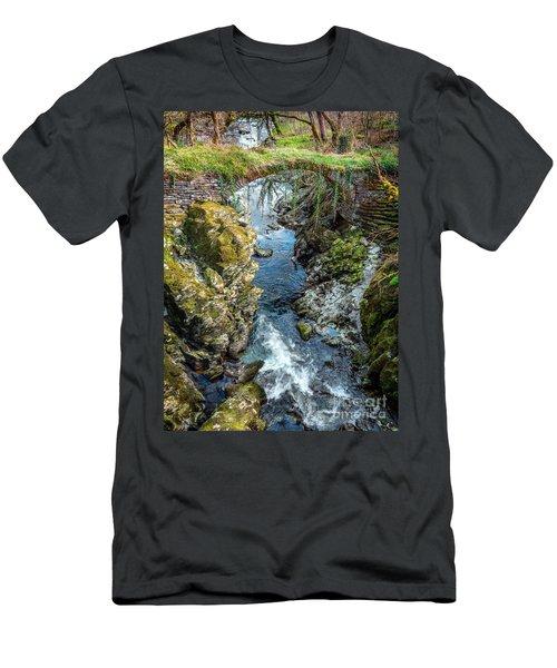 Roman Bridge Men's T-Shirt (Athletic Fit)