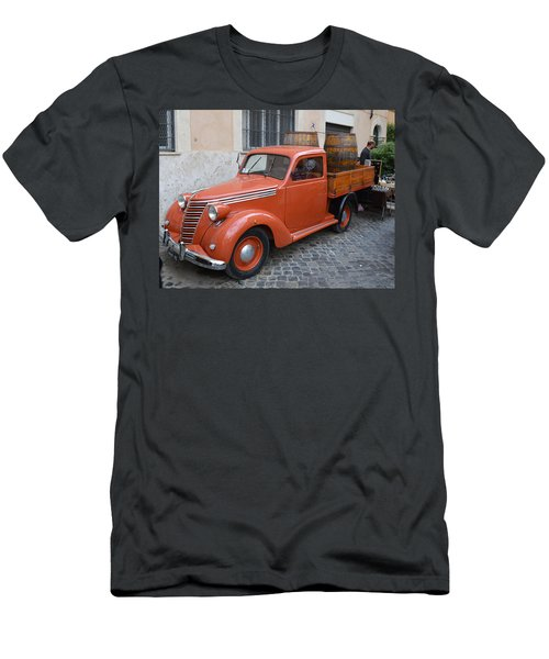 Roman Street Parking And Shopping Men's T-Shirt (Athletic Fit)