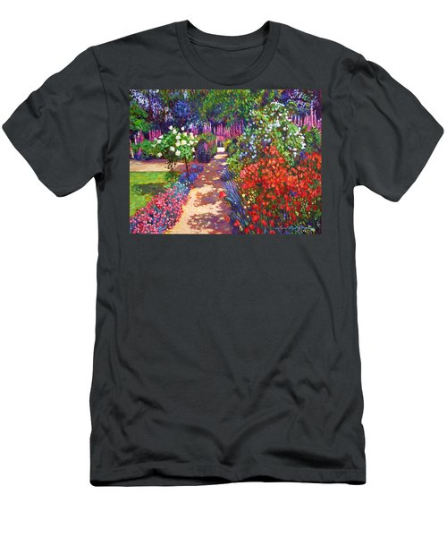 Romantic Garden Walk Men's T-Shirt (Athletic Fit)