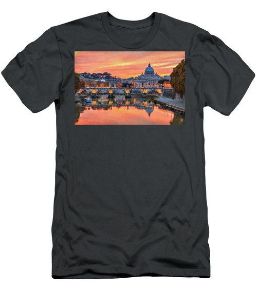 Rome And The Vatican City - 01  Men's T-Shirt (Athletic Fit)