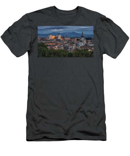 Rome Twilight Men's T-Shirt (Athletic Fit)