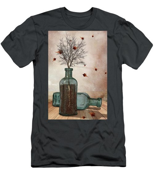 Rooted Men's T-Shirt (Slim Fit) by Mihaela Pater