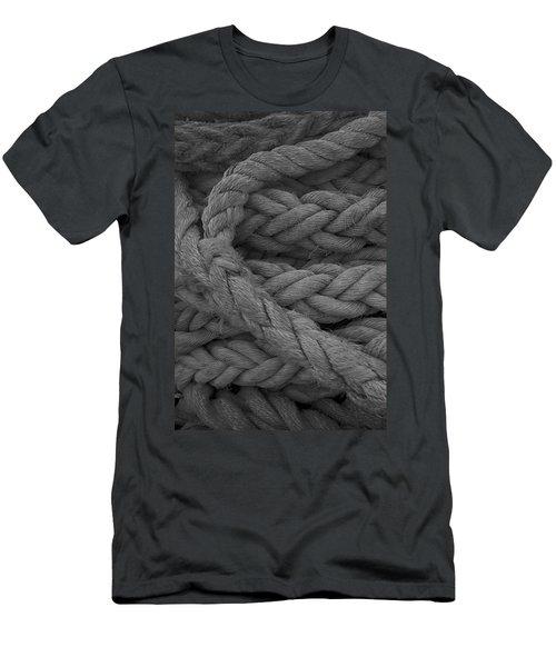 Rope I Men's T-Shirt (Slim Fit) by Henri Irizarri
