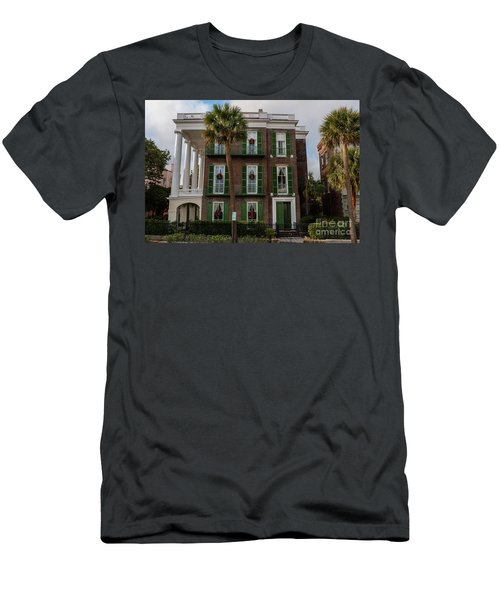 Roper Mansion In December Men's T-Shirt (Athletic Fit)